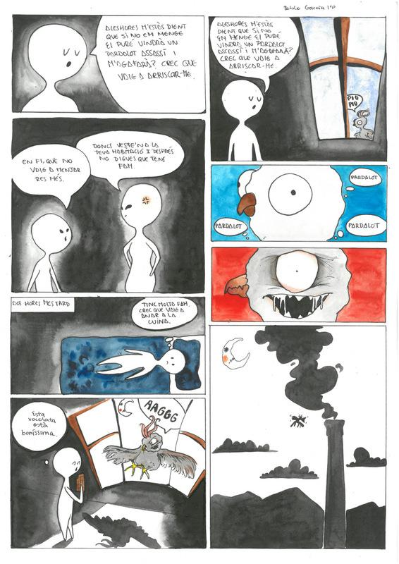 El pardalot (2), per Pablo García, 1r batx